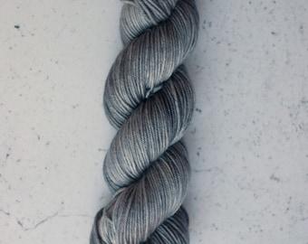 Archer, Hand Dyed Yarn, Knitting Yarn, Superwash Merino Wool, 100g/231 yards