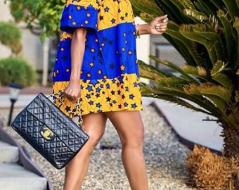 Ankara top, Off shoulder top, african print top, floral print top, top, blouse,