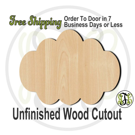 Plaque Cindy - 40003- Cutout, unfinished, wood cutout, wood craft, laser cut shape, wood cut out, DIY, Free Shipping