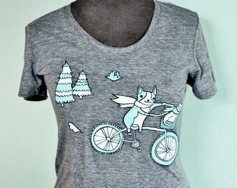 Bicycle graphic tee, summer outdoors t shirt women - bicycle tshirts women, gift for her, gift women, womens graphic tees, bike tshirt