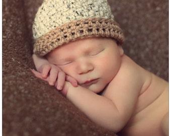 Acorn Hat, Crochet Acorn Hat for Newborns