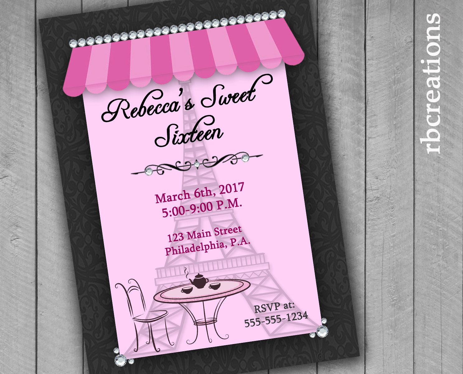 Sweet sixteen party invitations paris party paris sweet sixteen sweet sixteen party invitations paris party paris sweet sixteen invitation paris birthday paris sweet sixteen party digital printables solutioingenieria Choice Image