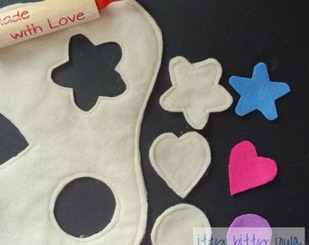 Felt Cookie Cut-out Kit with Rolling pin