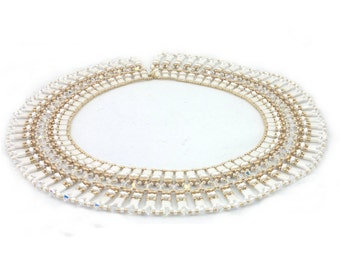 """Beading4perfectionists:  """"Cleopatra"""" necklace beading pattern tutorial PDF file"""