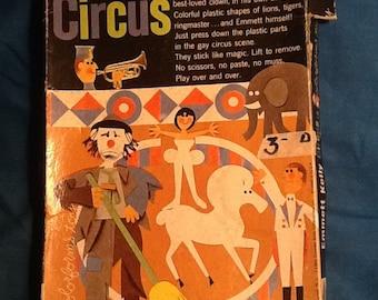 Emmett Kelly Circus Colorform Set 1960