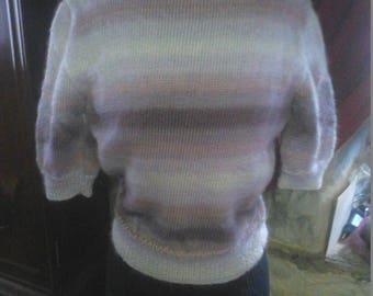 Vintage boat neck sweater