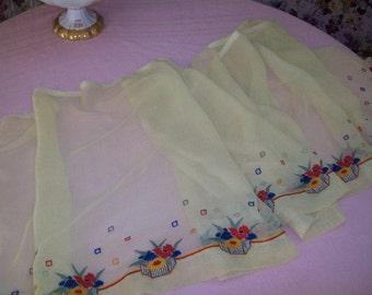 pretty embroidery, fabric, doll