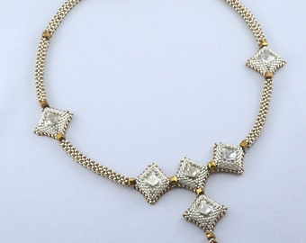 Princess Squared Necklace