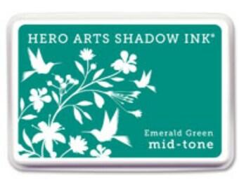 Hero Arts Emerald Green Mid-tone Shadow Ink AF315