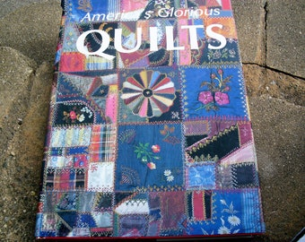 Vintage Book America's Glorious Quilts