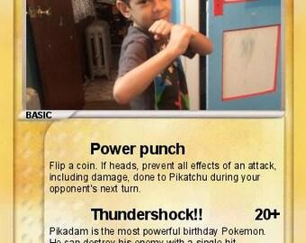 Custom Pokemon cards