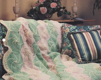 Crochet Blanket Pattern Pinwheel Afghan, Home Decor, Bedding, Sofa Throw, Bedspread, Annie's Crochet Quilt
