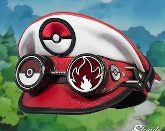 Pokemon Inspired Crush Cap & Goggles