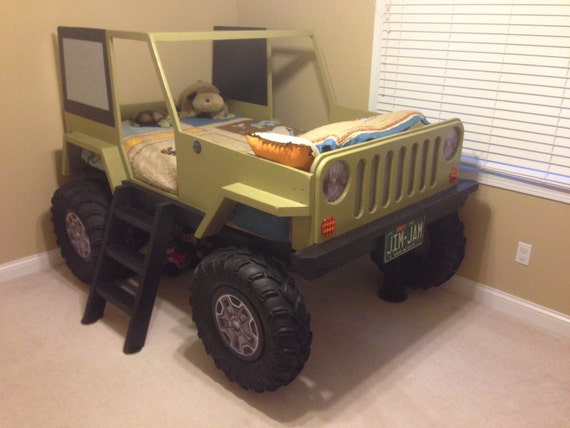 Car Bed Plans Jeep Twin Size Car Bed