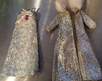 Melanie's Glimmering Stardust gown and coat friend of Topper Dawn doll
