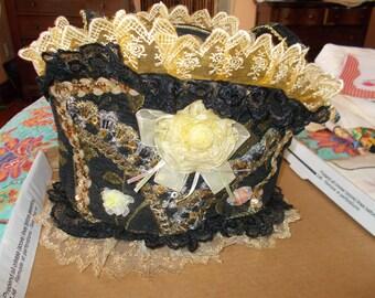 Gothic victorian purse