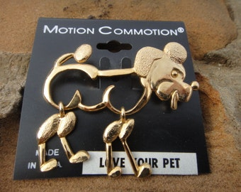Vintage Motion Commotion Vintage Movable Brooch pin