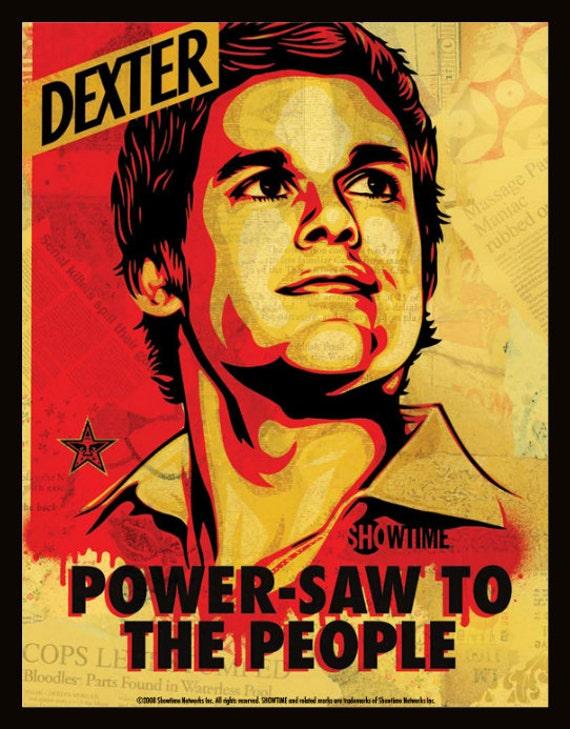 Dexter Shepard Fairey Poster Framed