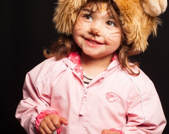 Beanie Lion, Adult and Child, Costume, Animal Hat
