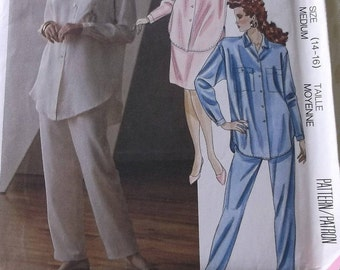 Mccalls 4549 Misses Top Pattern Misses Skirt and Pants Pattern Misses size 14 16