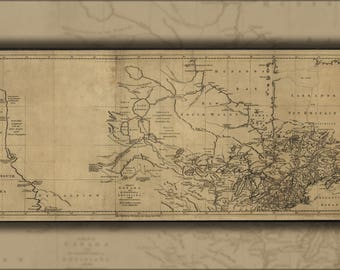 Poster, Many Sizes Available; Map Of Canada Michigan & New England 1762 P2