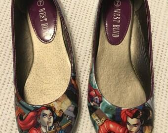 Superhero Ballet Flats