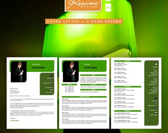 Resume Design Creative Template 8 Professional | Resume Writing | Cover Letter | Resume Design Service | Resume Design Package