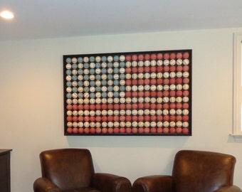Baseball American Flag *Red Robin Style* (Heirloom Quality)