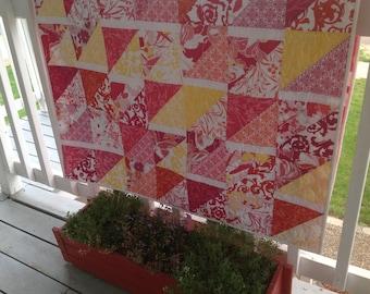 Summer Flowers Lap Quilt