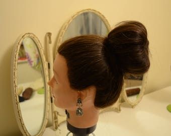 Hot Buns: Hair Up Donut Bun Rings,Bun Hair Shaper,Crown Lift Pad Halo Pad,