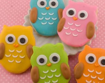 Owl Cookies, MINI SIZE - 3 dozen