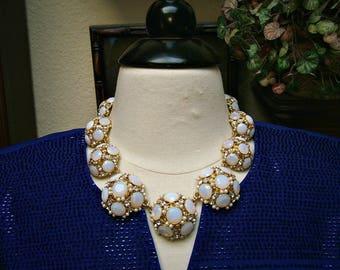 Kate Spade New York Authentic 1978 Belle Fleur Bridal Statement Collar Necklace