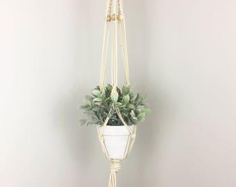 Macrame Plant Hanger | Plant Hanger |  Hanging Planter |