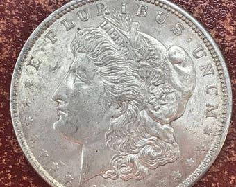 1921 Morgan Silver Dollar Coin -M176-