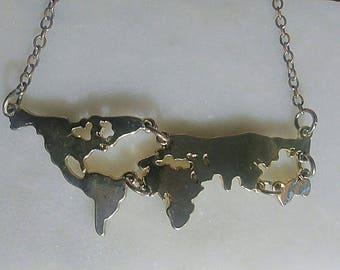Wanderlust Continent Map