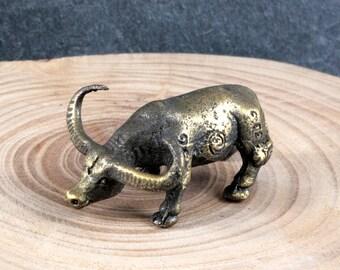 Water buffalo, Bronze, asiatica - 4535