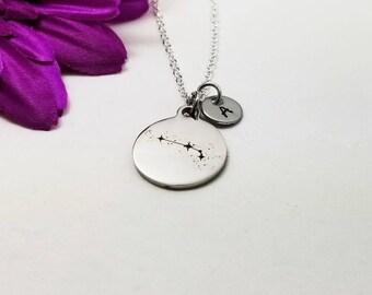 Silver Aries Necklace - Zodiac Necklace - Astrology Necklace - Zodiac Charm Jewelry - Constellation Charm - Zodiac Jewelry - Birthday Gift