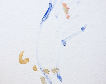 Small painting of hand