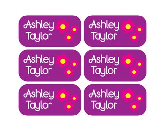 Personalized Clothing Tag Labels - Daycare Clothing Labels - Camp Clothing Labels - Waterproof Labels - Name Labels