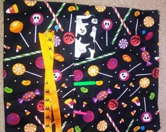 Utensil bag zero waste Halloween theme
