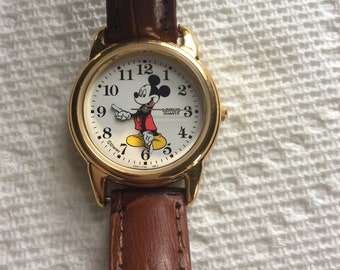 Woman's Mickey Mouse wrist watch