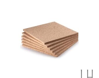 "1/2"" Thick Cork Sheets - Various Sizes - DIY"