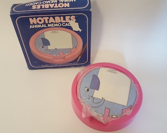 Elephant notepad vintage unopened