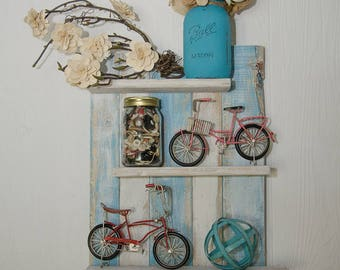 Rustic Wood Shelf, Bathroom Shelf, Shelf Decor, Reclaimed Wood Shelf, Farmhouse Shelf - Pick your color