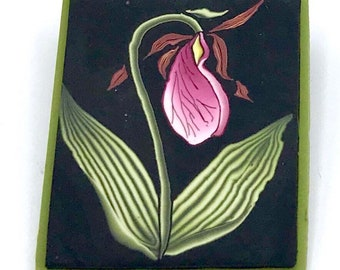 Lady Slipper Pin