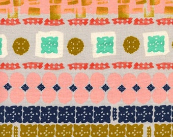 Fat Quarter Paper Cuts Earth Paper Bandana Collection By Alexia Marcelle Abegg for Cotton & Steel Fabrics