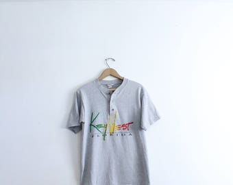 Key West Button Tee