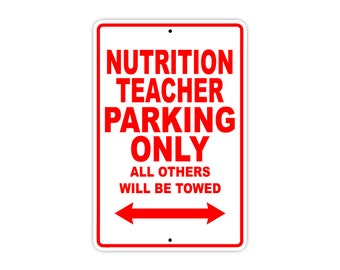 Nutrition Teacher