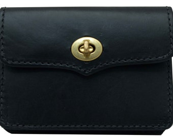 Santa Leather Ditty Bag