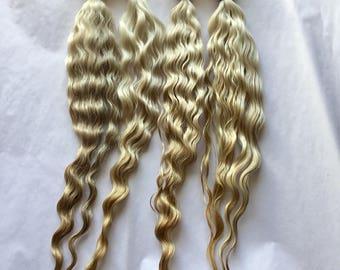 Natural blonde/ brown 9-10 inch